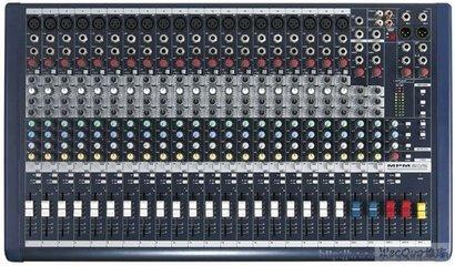 调音台连接音响设备之输入线路的连接